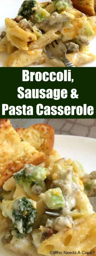 Flavors blend wonderfully in this Broccoli, Sausage & Pasta Casserole. This easy to prepare dish is family-friendly and gentle on the budget too.