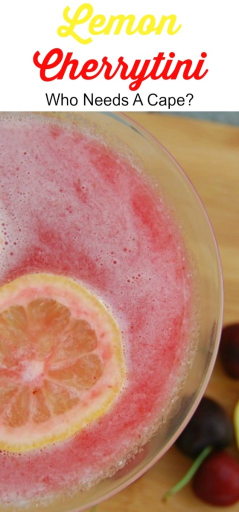 Lemon Cherrytini is a fabulous summer drink! This cocktail has flavors that everyone loves, perfectly refreshing and so delicious!