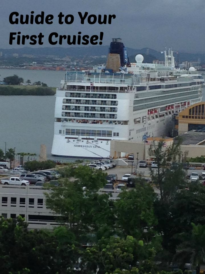 Guide to your first cruise