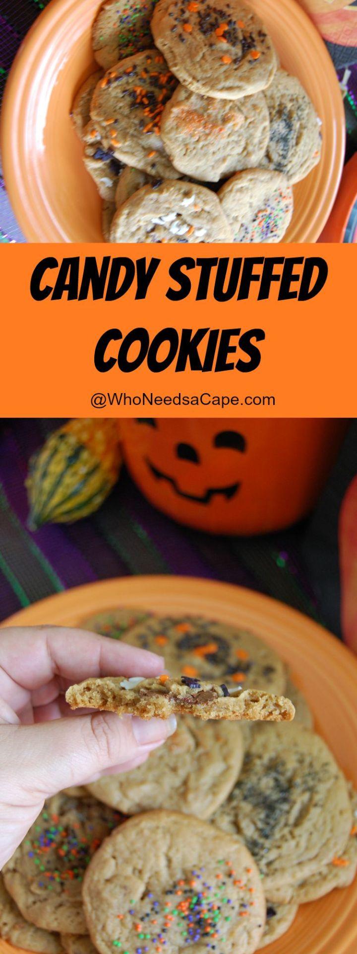 Candy Stuffed Cookies 1