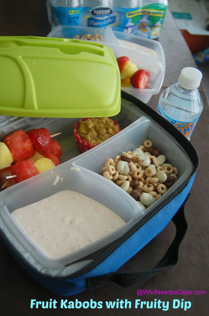 Perfect to pack in the lunches to get some HEALTHY in there! (and it's easy!)