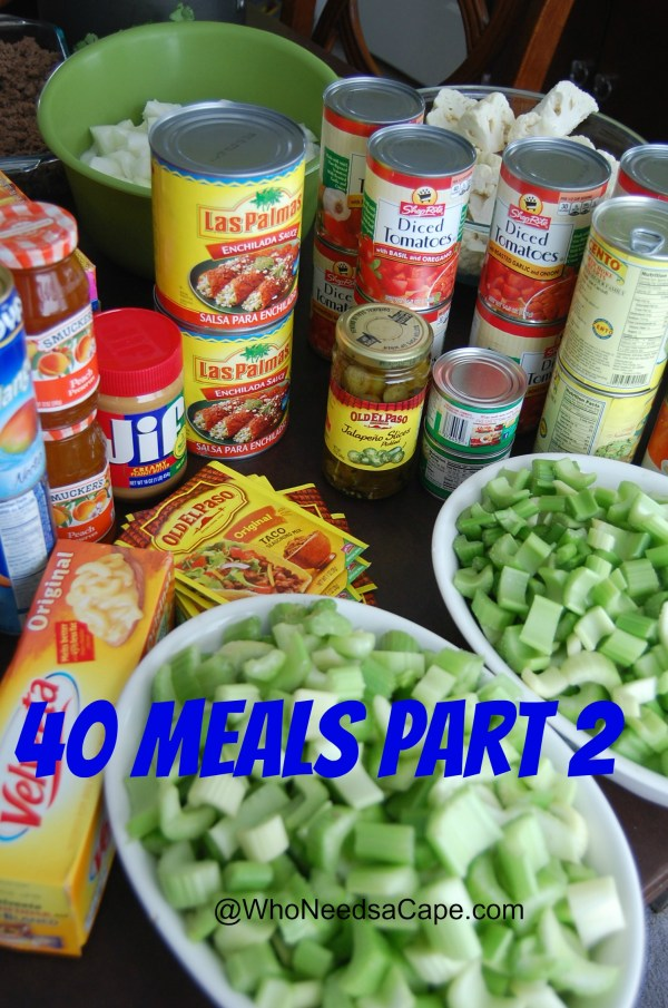 40 Meals Freezer Meals Part 2