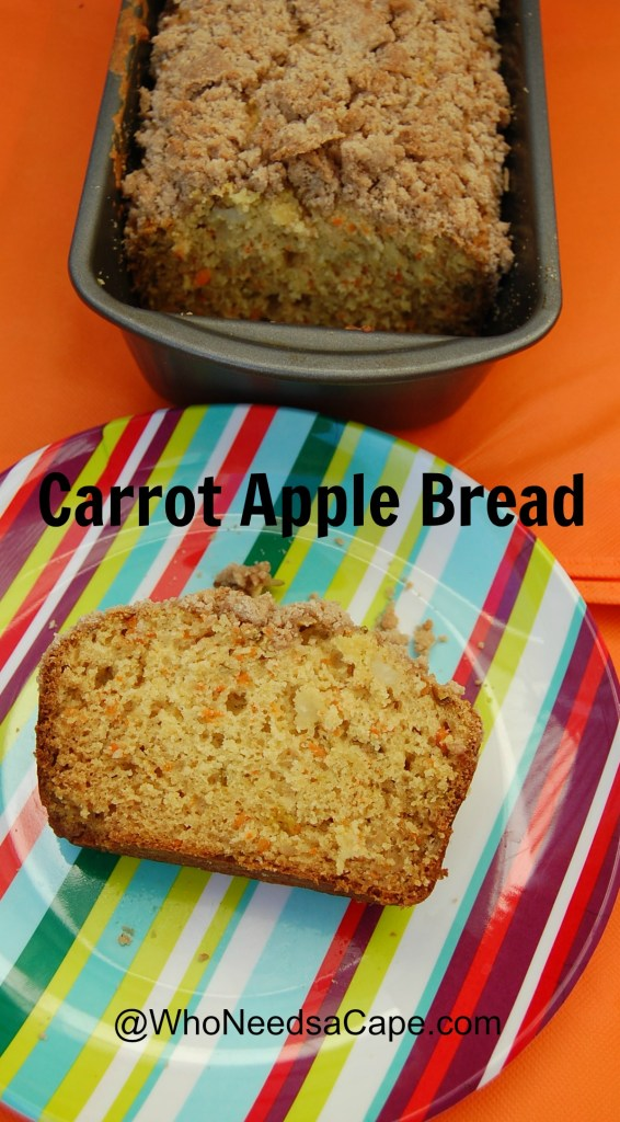 Carrot Apple Bread 3