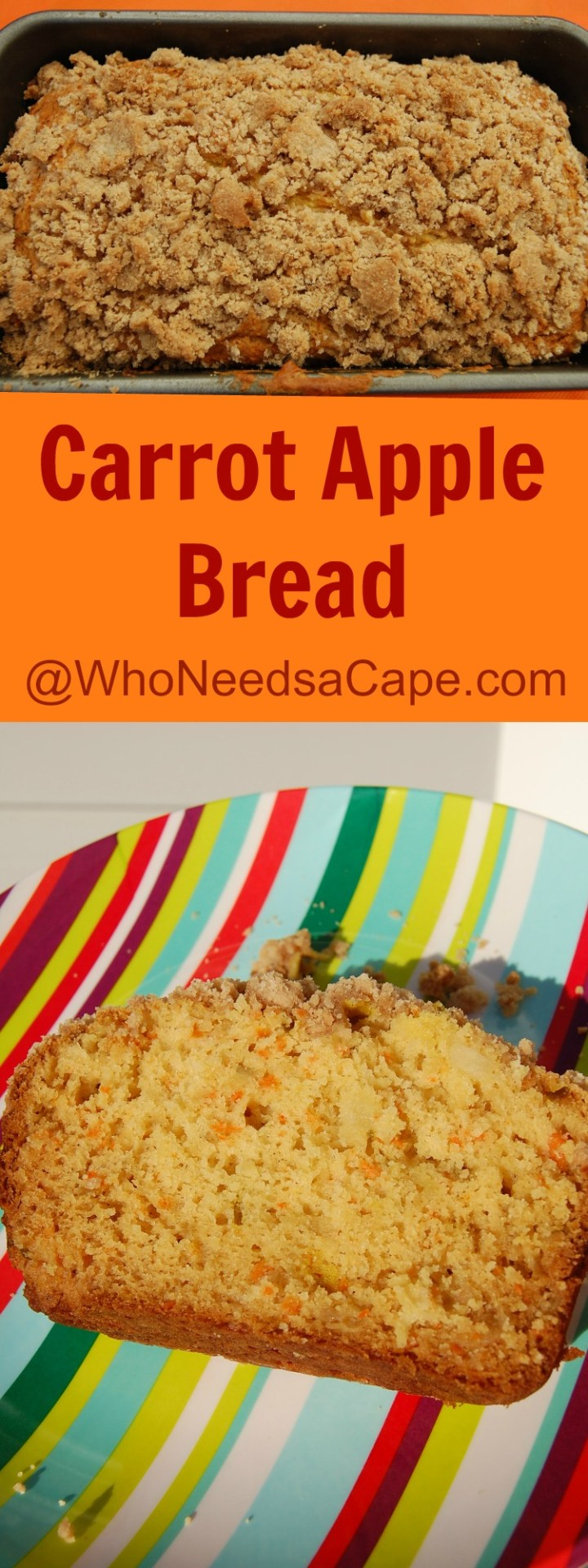 Carrot Apple Bread 4