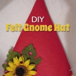 DIY Felt Gnome Hat
