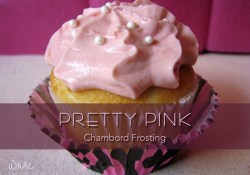 Pretty Pink Chambord Frosting