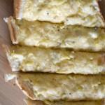 Loaded Artichoke Garlic Bread