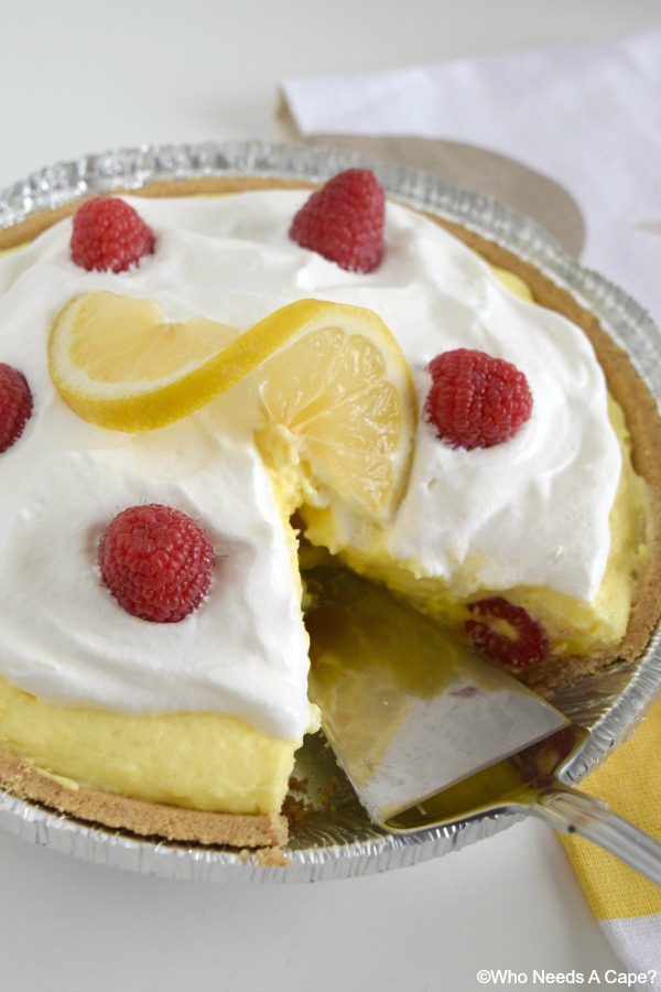Creamy Lemon Layered Pie