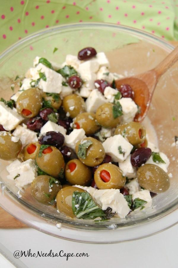 Feta olive Salad 3