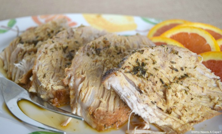 This slow cooker Honey Citrus Pork Loin is a mouth-watering and delicious way to prepare a pork loin. Great for any holiday and family gathering.