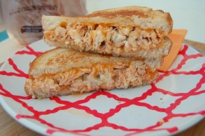Buffalo Chicken Grilled Cheese 6