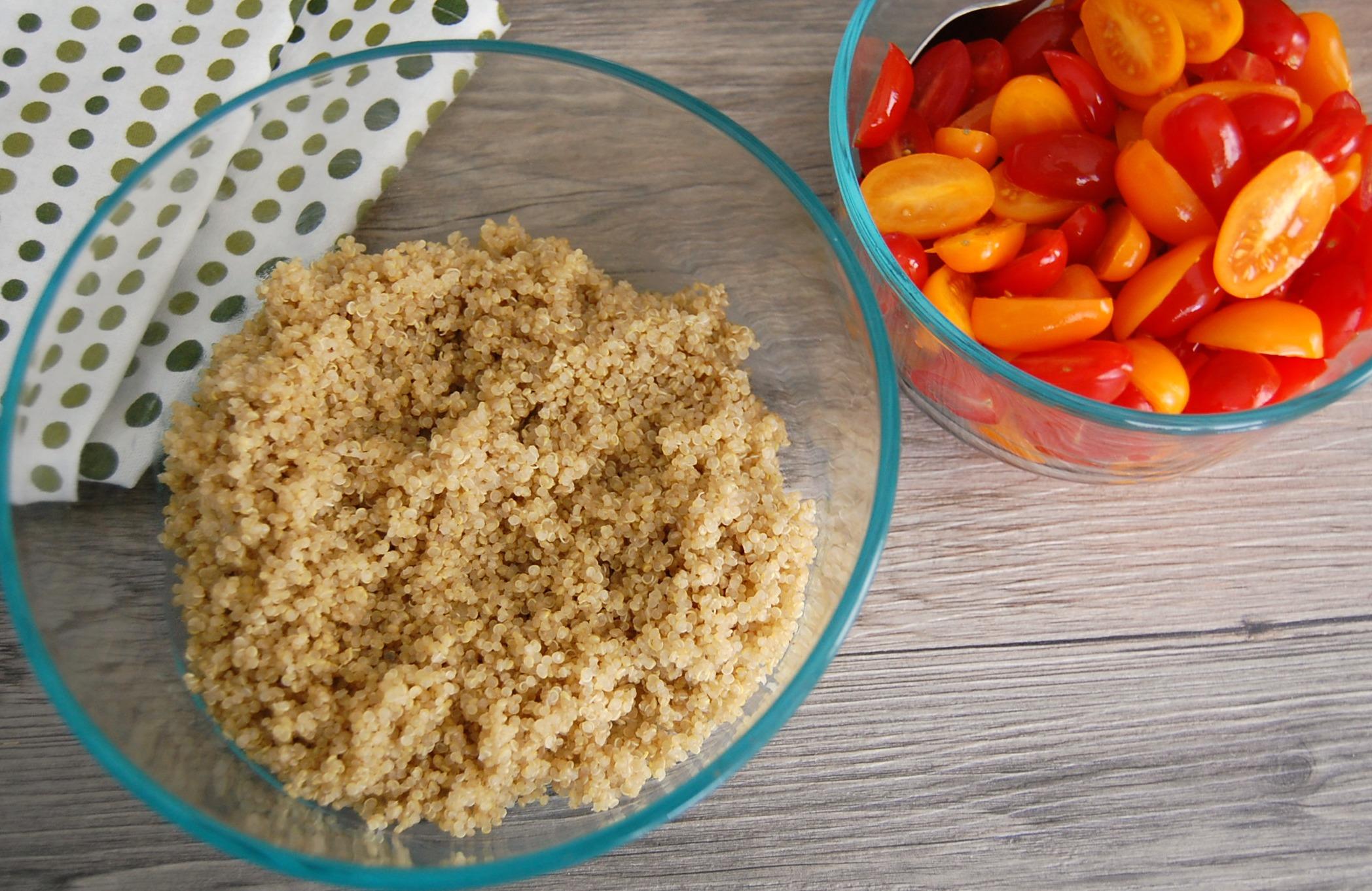 Tomato Quinoa Salad