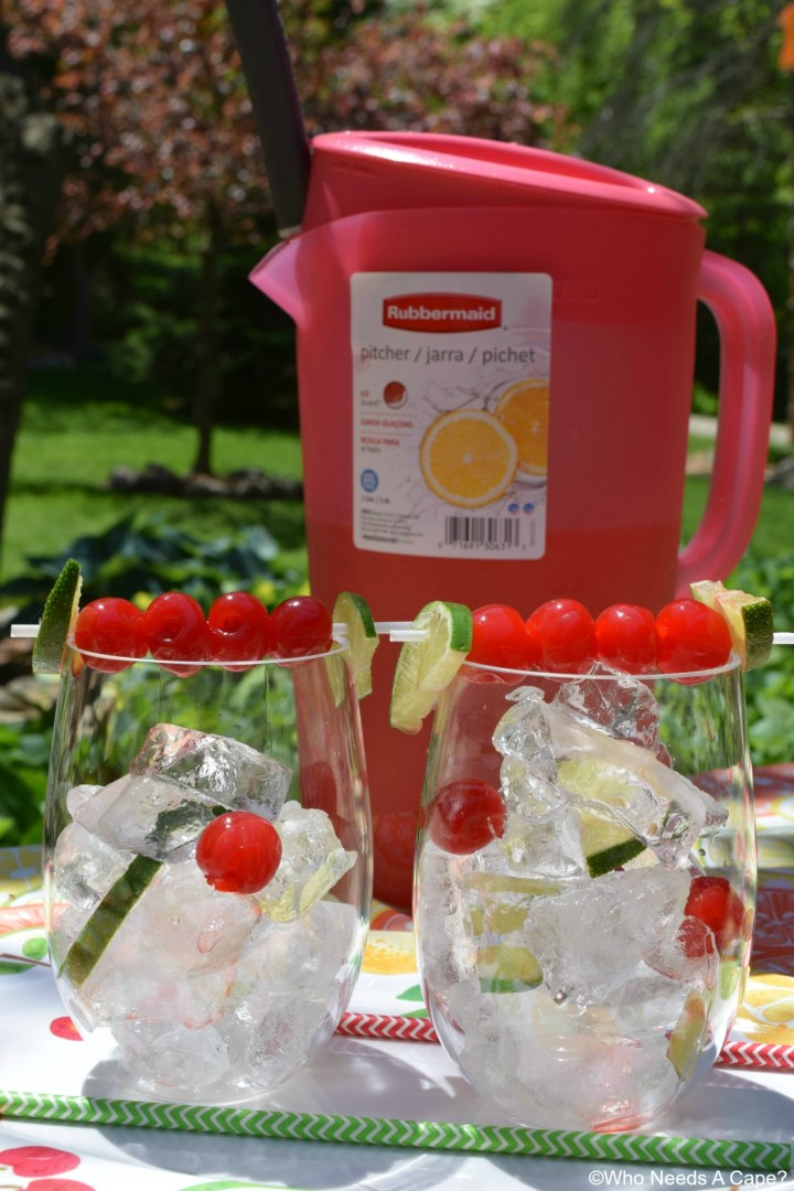 Make a big pitcher of our family favorite Cherry Limeade! Perfect for entertaining and summertime sipping, you'll love the sweet & tart combo.