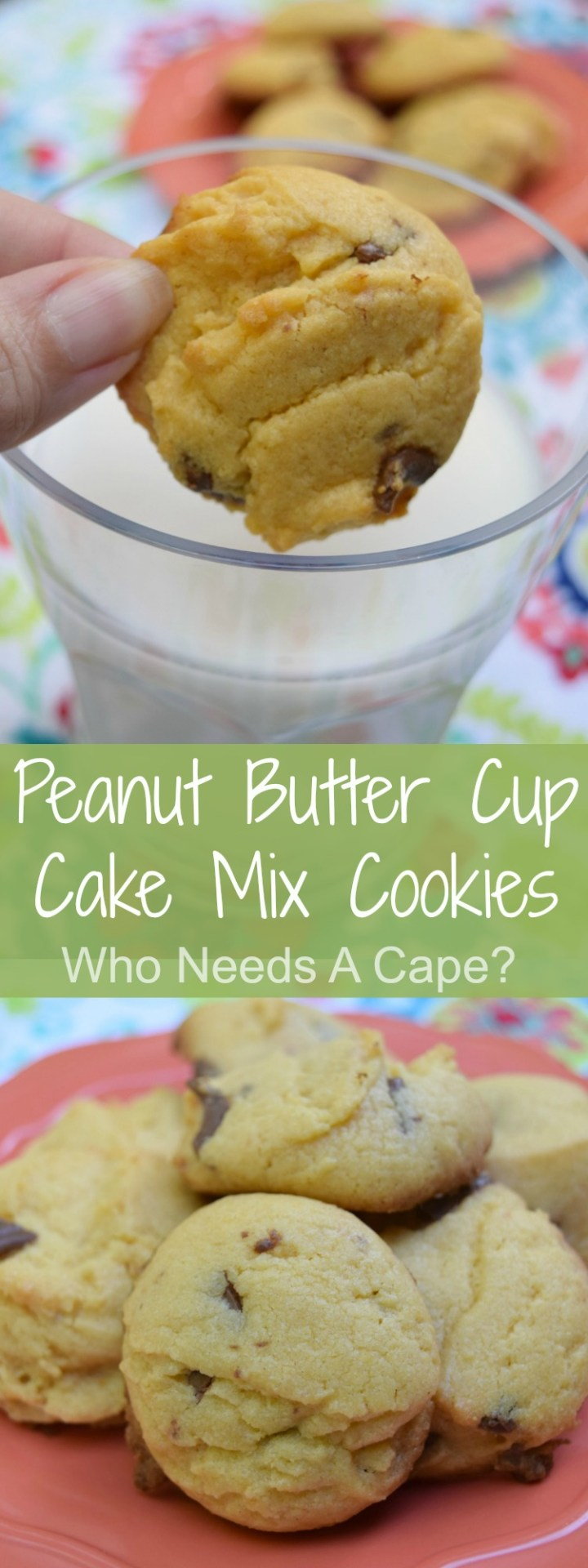 If you need a deliciously easy cookie look no further than Peanut Butter Cup Cake Mix Cookies! A snap to prepare with flavors you love.