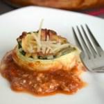 Cheesy Zucchini Roll-Ups
