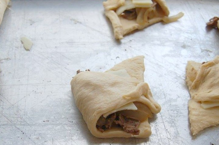 CheeseSteak Crescents 1