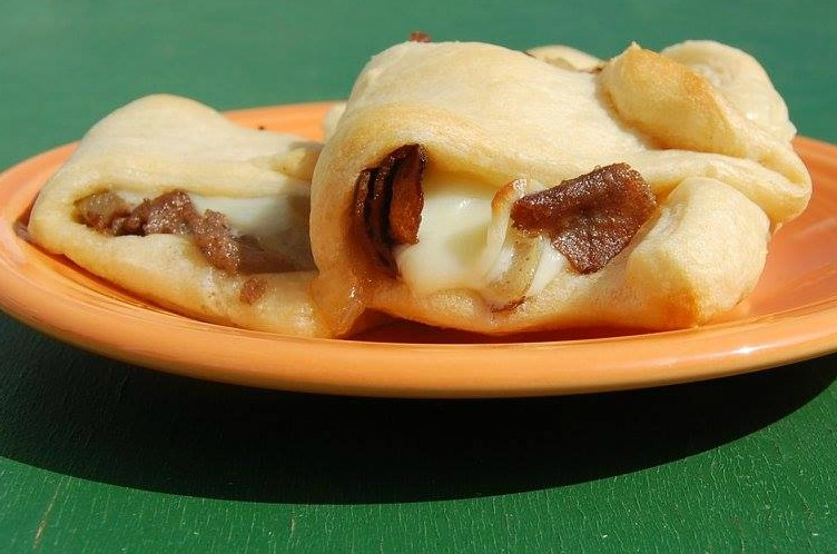 CheeseSteak Crescents 5