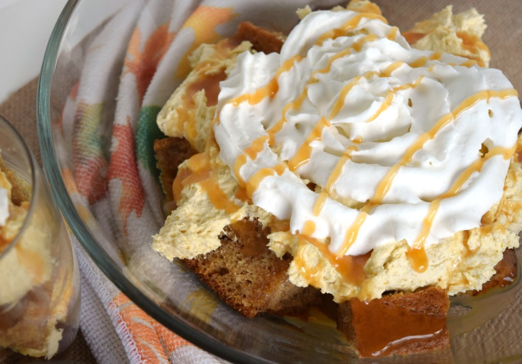 Pumpkin Mousse Trifle is a wonderful dessert that's easy to prepare. Layers of pumpkin flavors blend together for the perfect fall dessert.