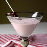 Cranberry Cheesecake Martini