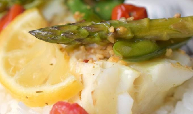 Cod & Veggie Packet Meal
