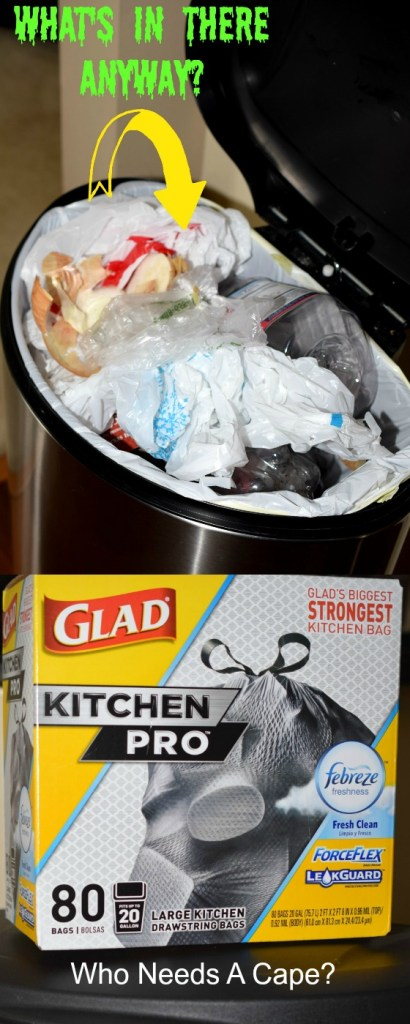 Wanna know what My Favorite Household Sanity Saver is? Glad Kitchen Pro Trashbags, there's no denying they make my life so much easier.