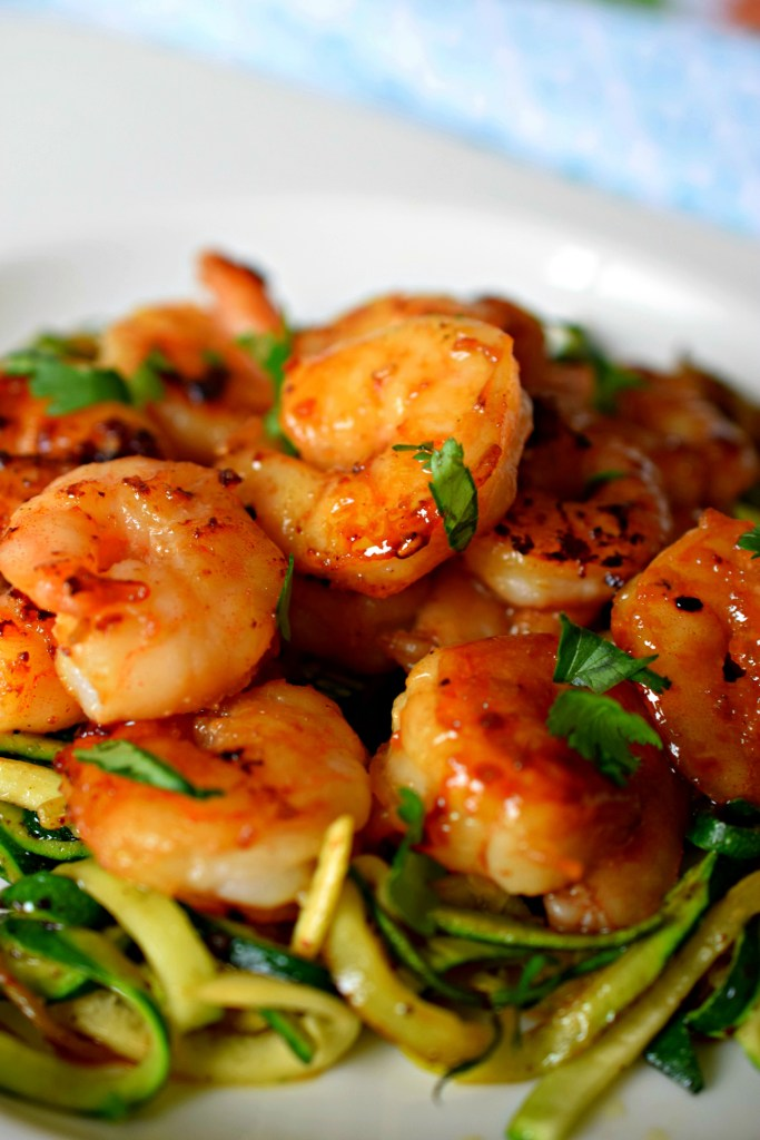 Love shrimp & need a quick meal idea? Sesame Cilantro Lime Shrimp is flavor loaded, easy to make and will get dinner on the table fast!