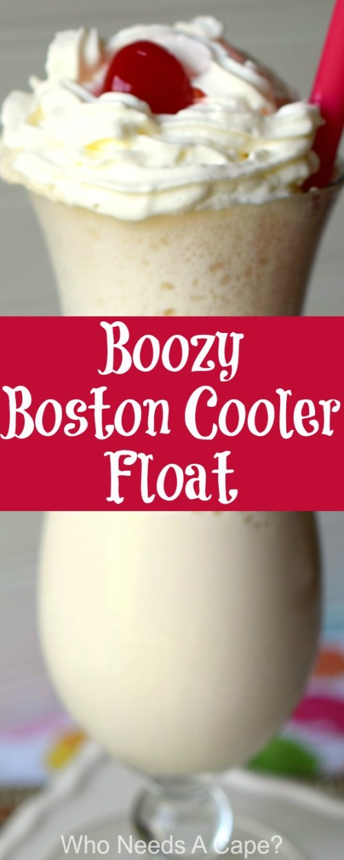 Did you grow up enjoying Boston Coolers? Try a Boozy Boston Cooler Float, same great flavors in this Detroit classic but in cocktail form!