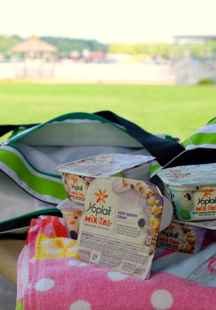 Are you on the go all summer long? We are too and my kids get hungry all the time. Pack up some Summertime Fun with Yoplait Mix-Ins.