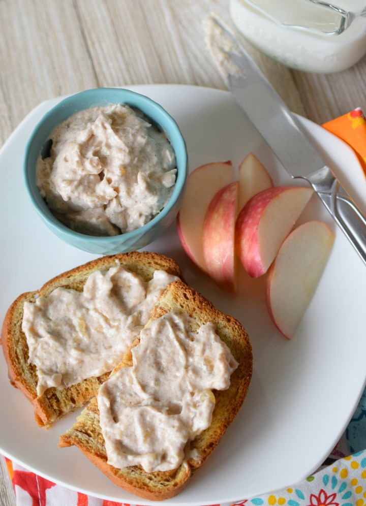 You'll love Apple Pie Cream Cheese! All your favorite fall flavors in a creamy spread. With great spices and a creamy texture, the perfect toast topper.