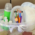 Rock Painting Caddy