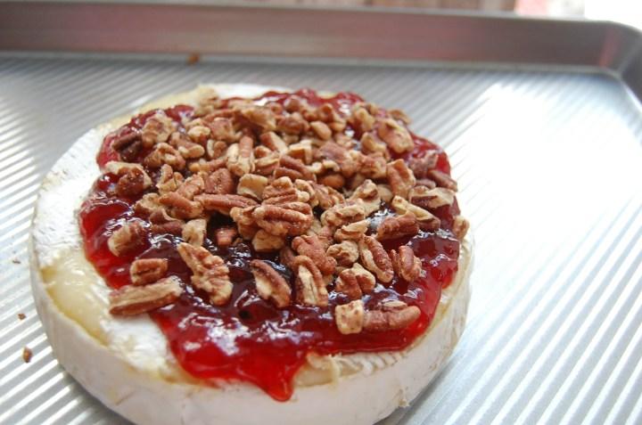 Strawberry Pecan Brie 2