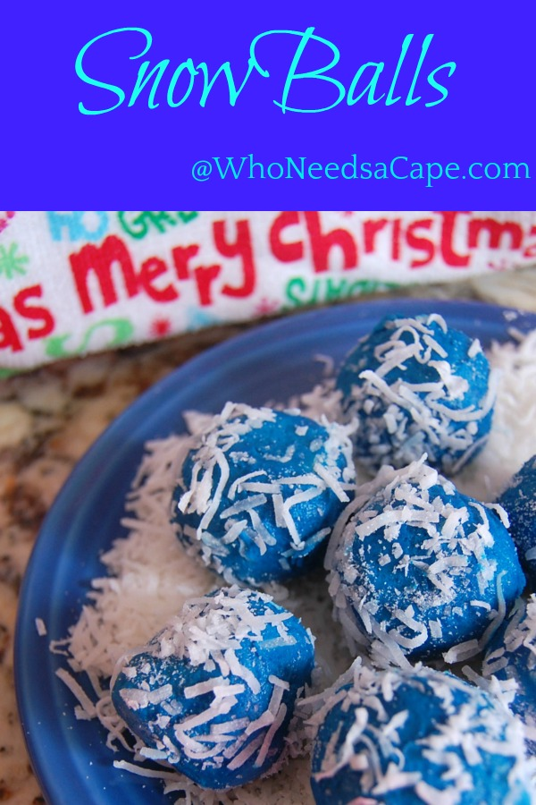 Snowballs No Bake Truffles are such a fun and cute treat! The kids can help make them AND eat them!