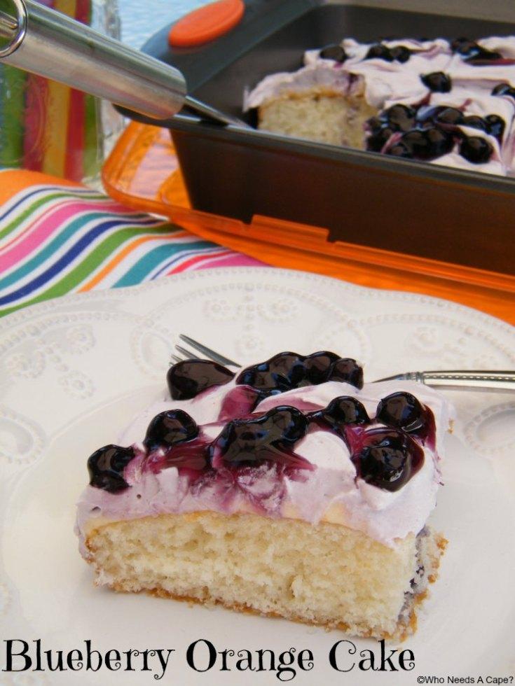 Blueberry Orange Cake