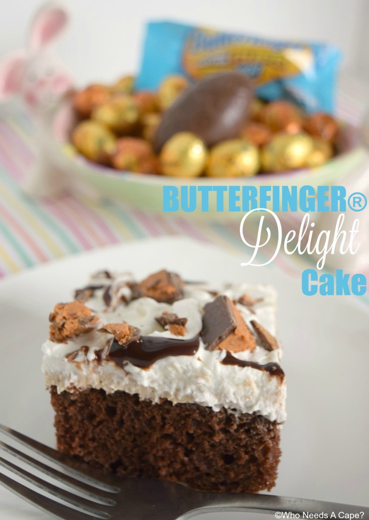 BUTTERFINGER® Delight Cake