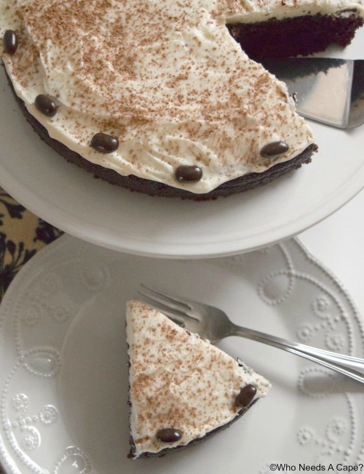 Cream Cheese Frosted Chocolate Java Cake