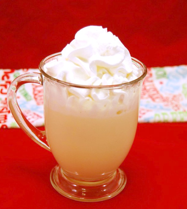 Egg Nog White Hot Chocolate