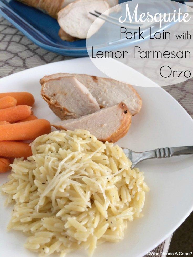 Lemon Parmesan Orzo
