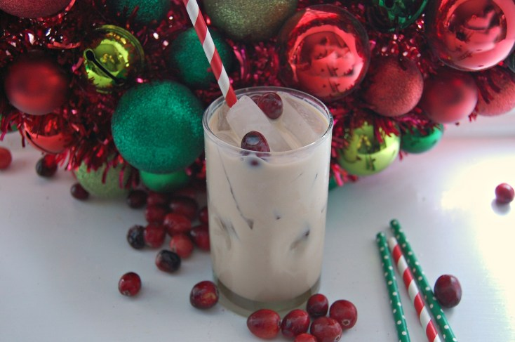 Minty Santa Holiday Cocktail