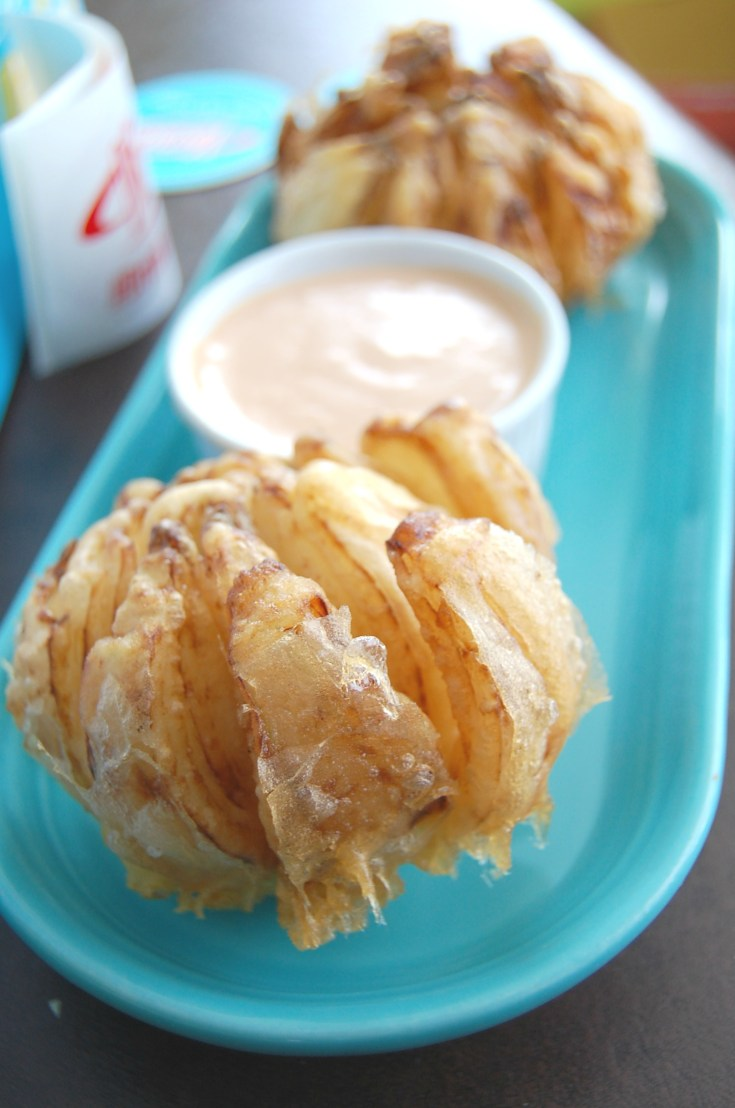 Onion Blossoms with Dipping Sauce