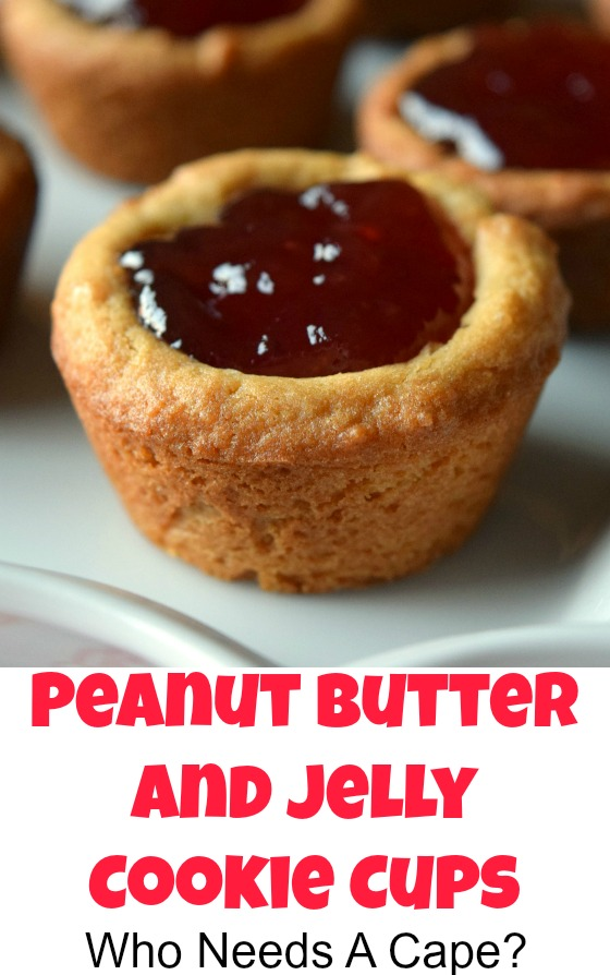 Peanut Butter and Jelly Cookie Cups