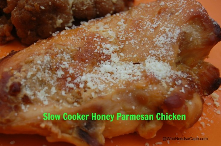 Slow Cooker Honey Parmesan Chicken