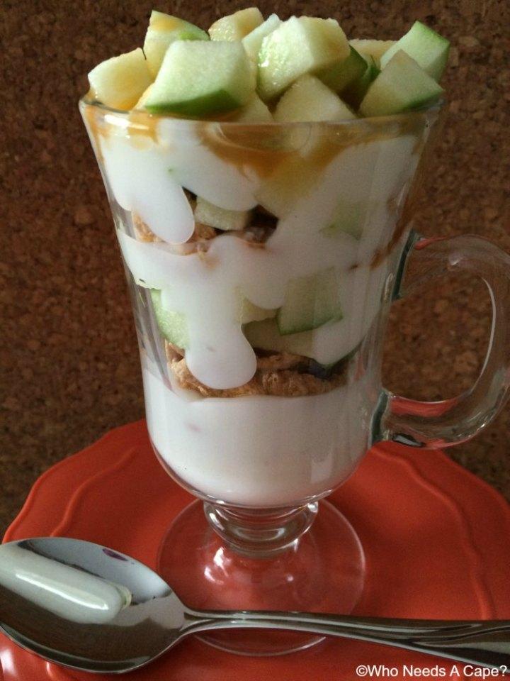 Caramel Apple Yogurt Parfait