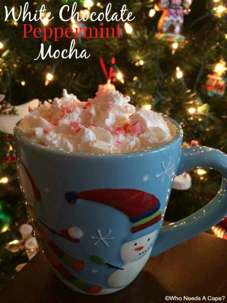 {copycat} White Chocolate Peppermint Mocha