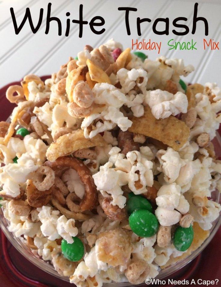 White Trash Holiday Snack Mix