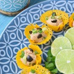 Creamy Refried Bean Cheese Cups