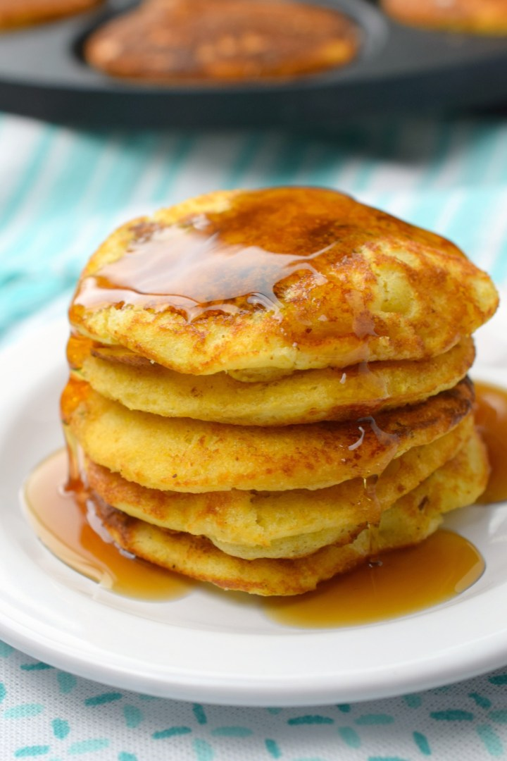 Cornbread & Sausage Pancakes