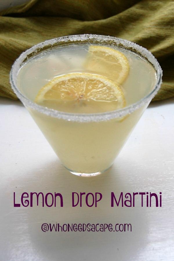 Lemon Drop Martini - Simple and Easy to make