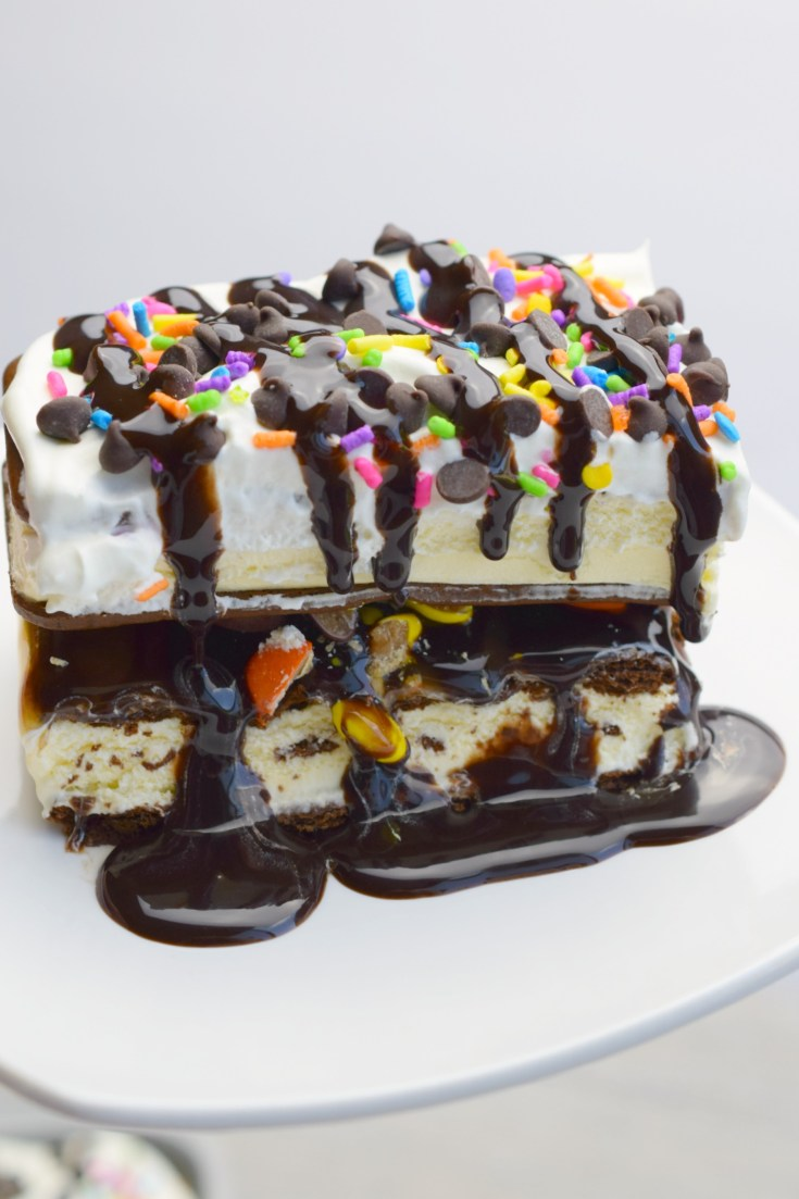 Loaded Ice Cream Sandwich Dessert