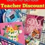 Save with the Meijer Back to School Teacher Discount