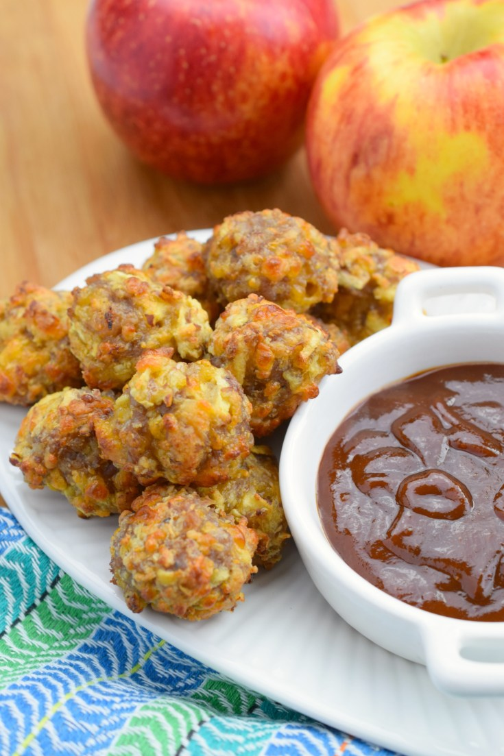 Savory Apple Sausage Balls
